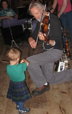 John Turner, 10-time National Scottish Fiddling Champion